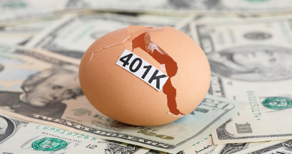 using retirement savings to pay off debt