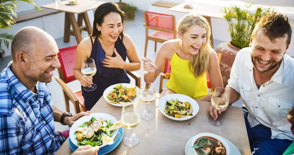 People Enjoying American Express Gold Credit Card Benefits