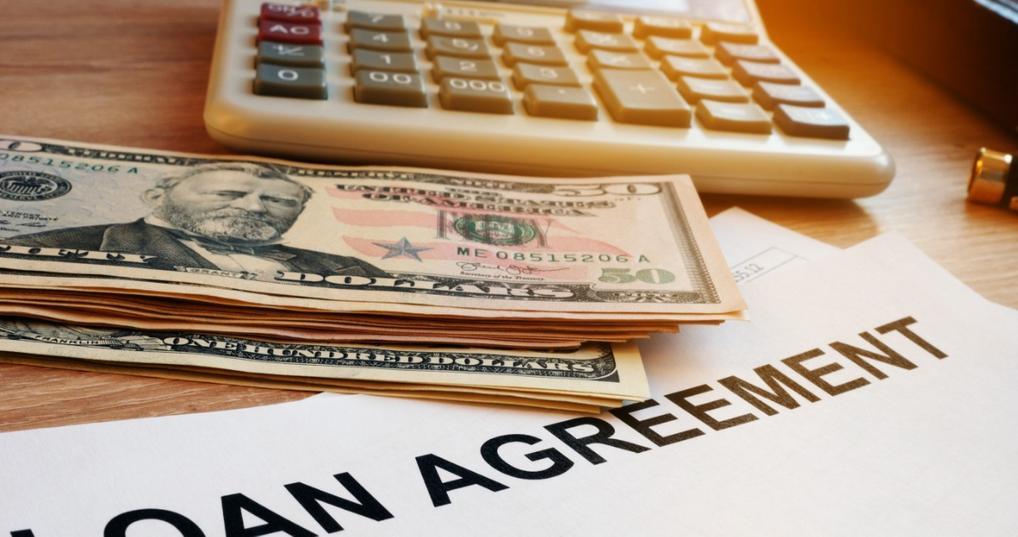 Loan paperwork and origination fee