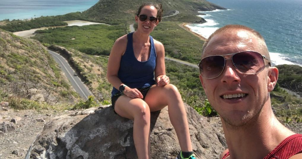 Jamie Haas Trip to Saint Kitts