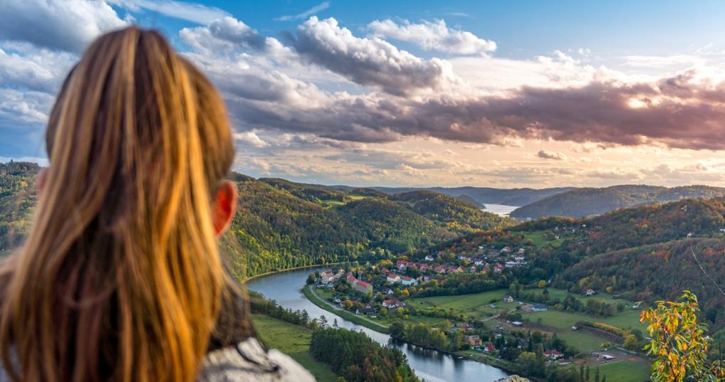 Eastern Europe landscape