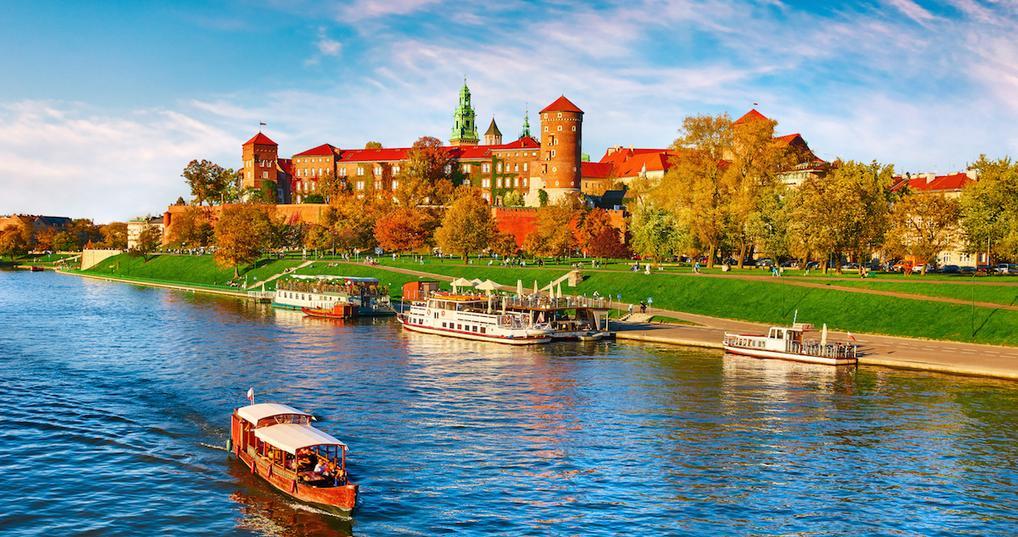 Wawel Castle in Poland