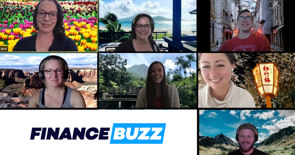 Travel Zoom Backgrounds from FinanceBuzz