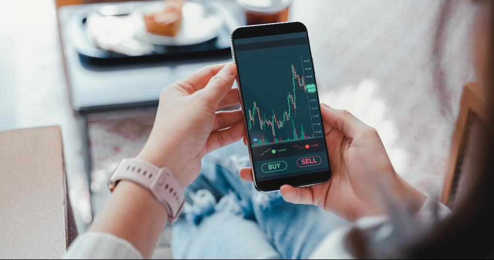 viewing stocks on phone