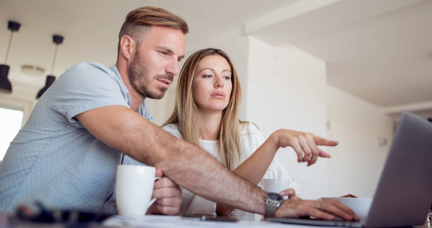 Adult couple worried about filing for bankruptcy