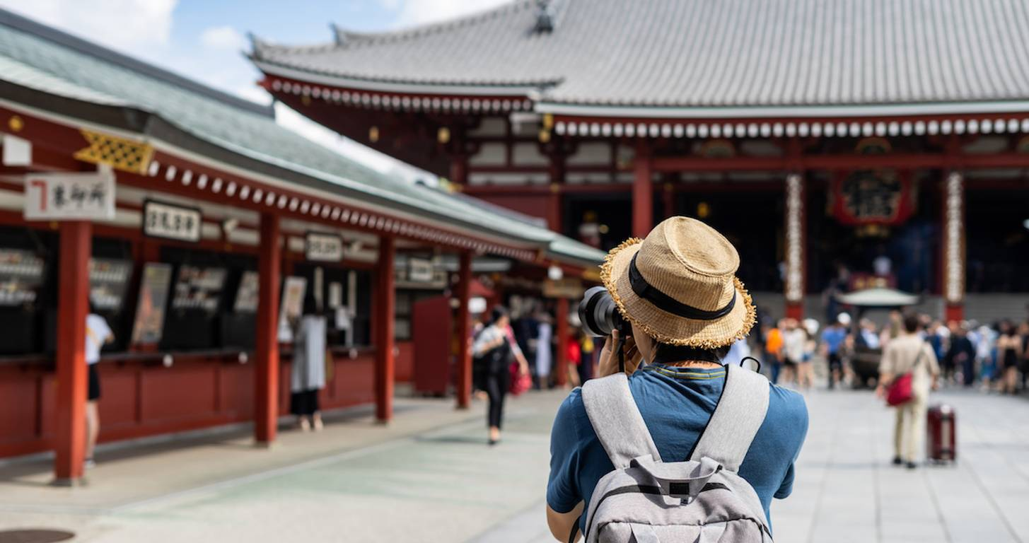 trip to japan with points and miles
