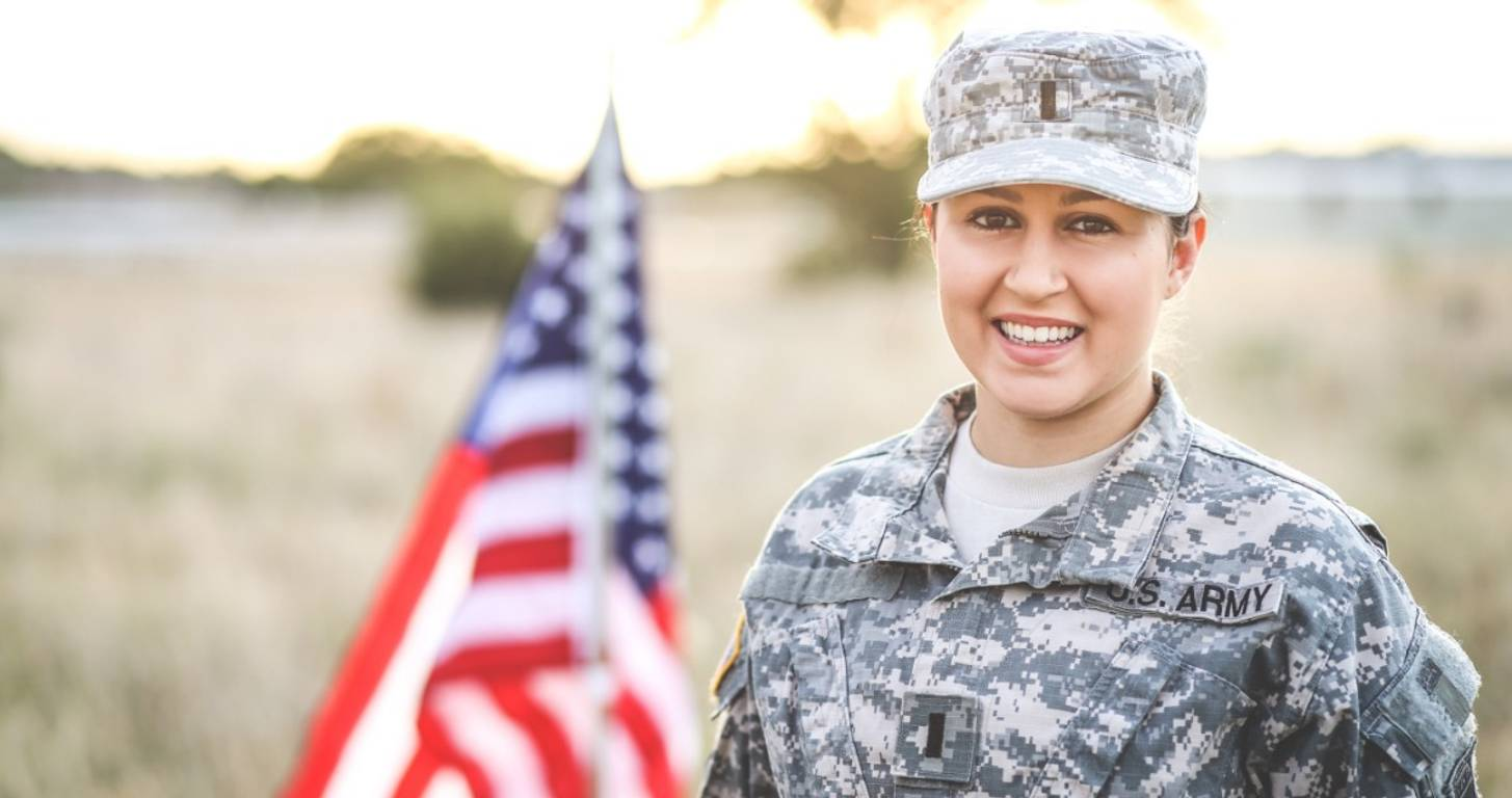 Army woman happy to save big on credit cards