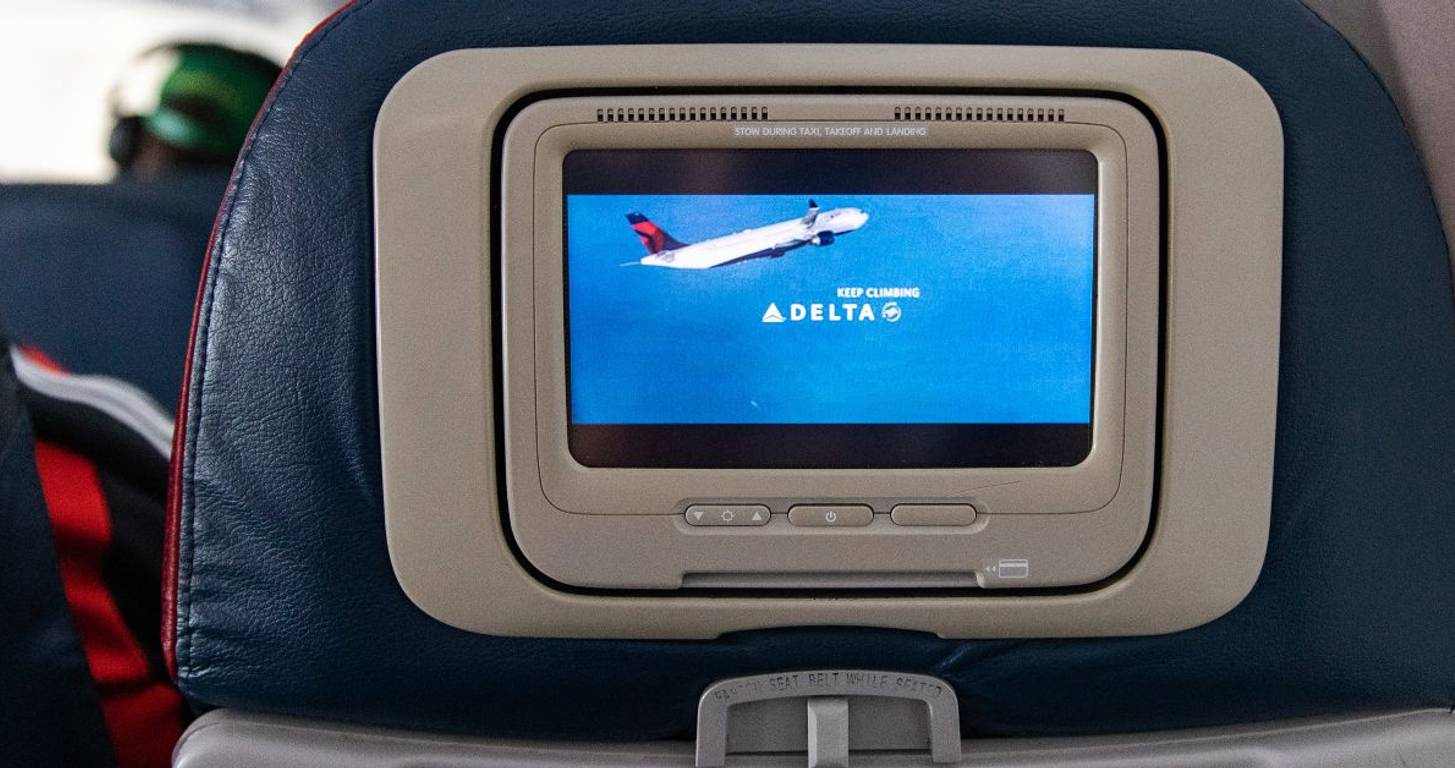 Delta Airlines International Main Cabin Announcement