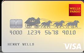 Wells Fargo Cash Back College Visa Card