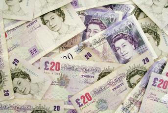 Photo of British money