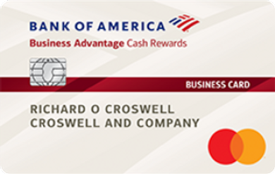 Bank of America Business Advantage Cash Rewards Mastercard