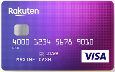 Rakuten Cash Back Visa Credit Card