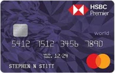 HSBC Premier World Mastercard Credit Card