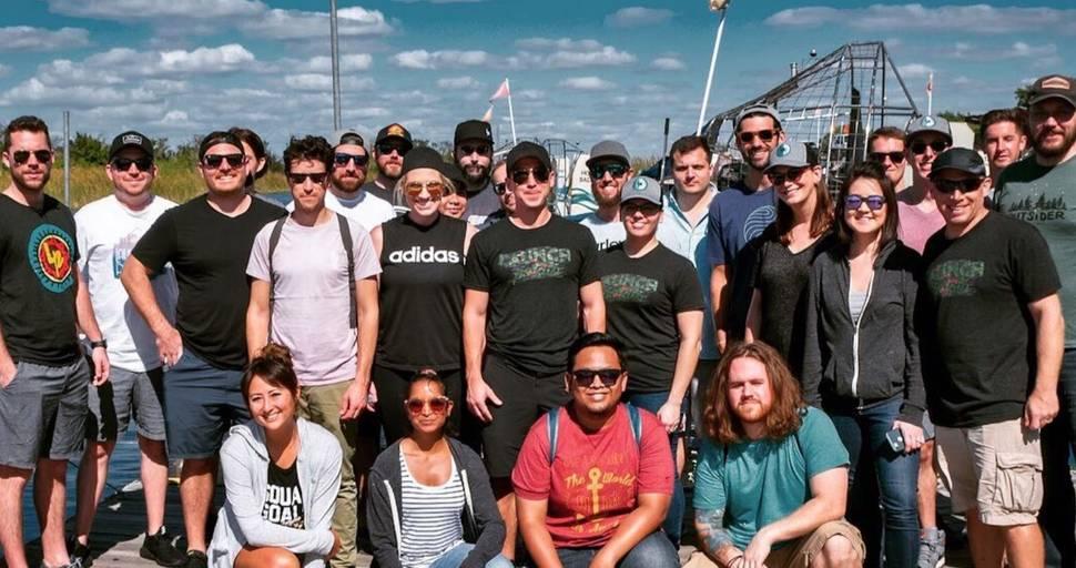 Launch Potato team photo