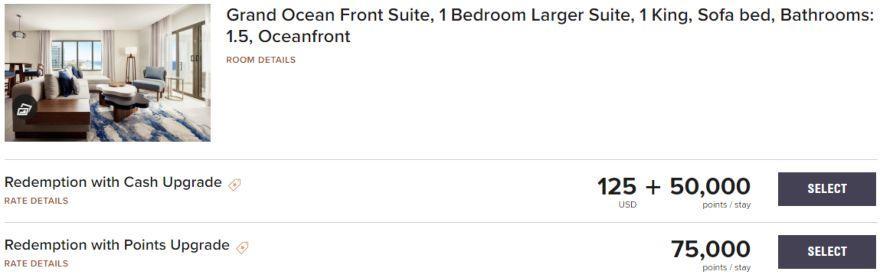JW Marriott Cancun Resort & Spa Grand Ocean Front Suite using Marriott Bonvoy points