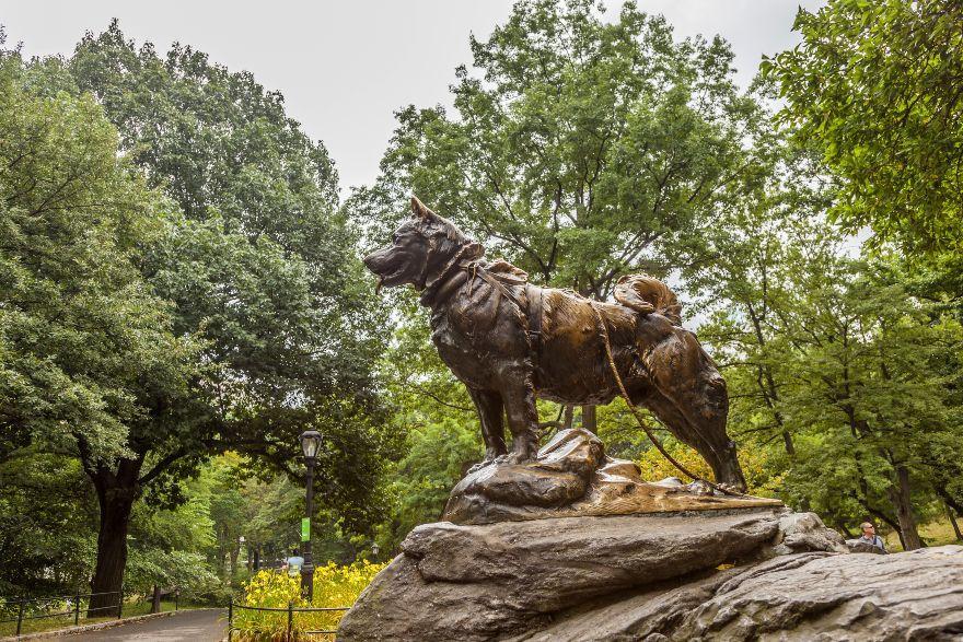 Balto Central Park New York