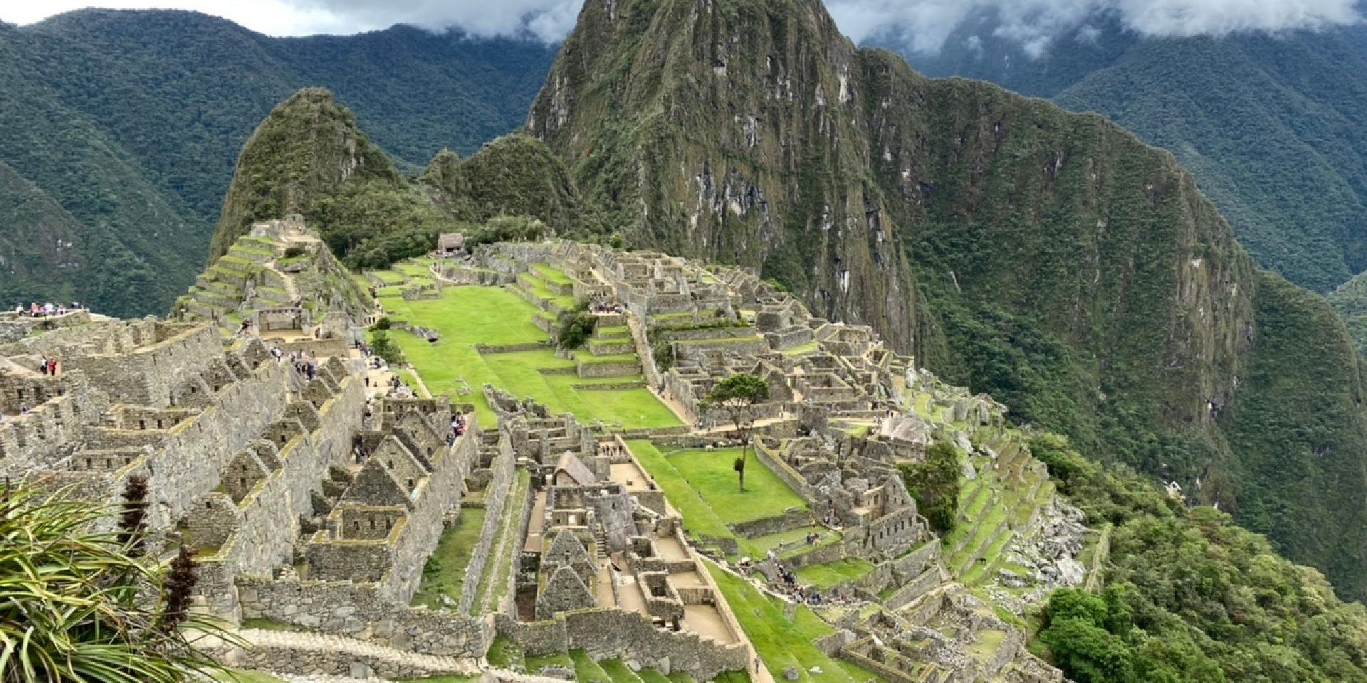 Machu Picchu Zoom Background