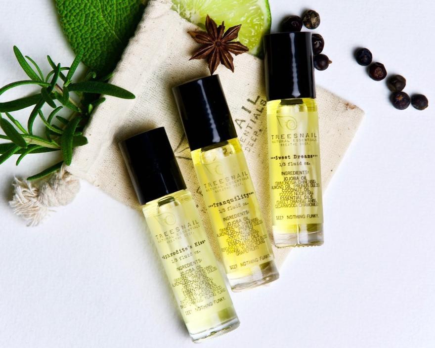 Aromatherapy set from Treesnail Skin Care