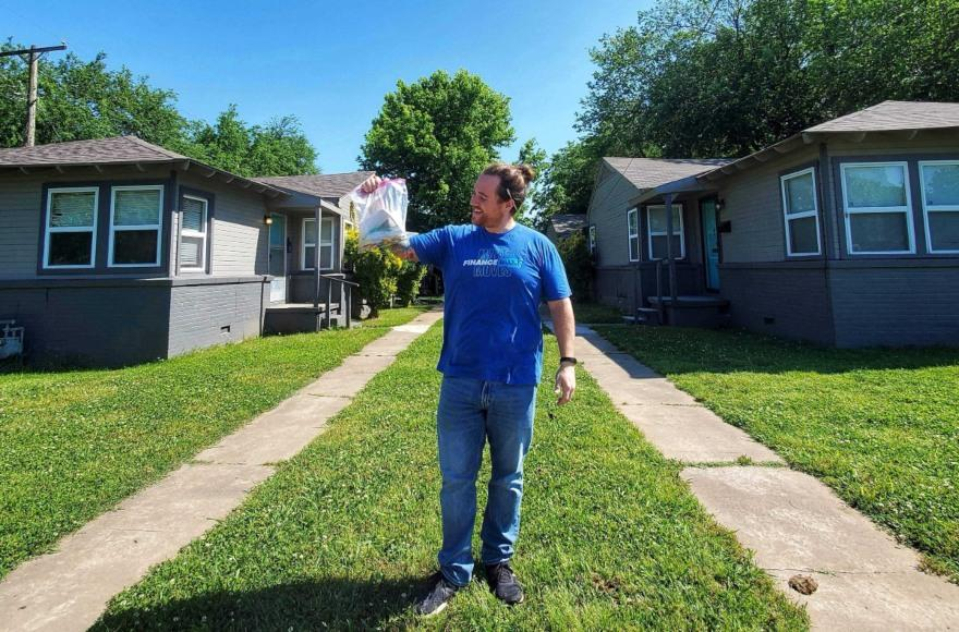 Brandon holds BRRRR property keys