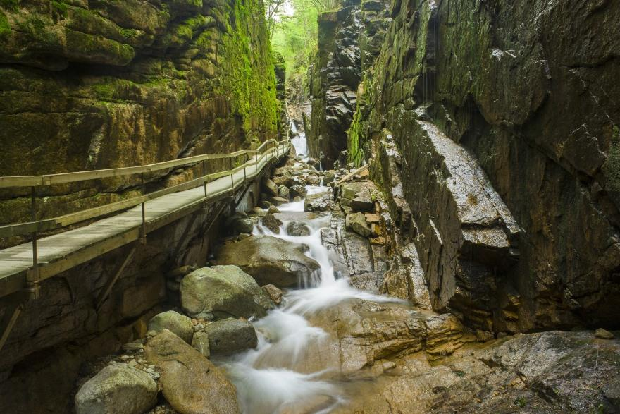 New Hampshire: Franconia Notch State Park
