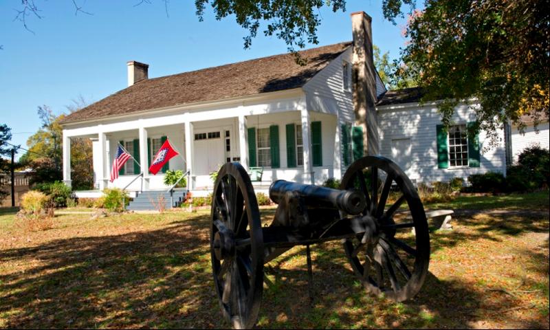 McCollum-Chidester House Museum in Camden, Arkansas