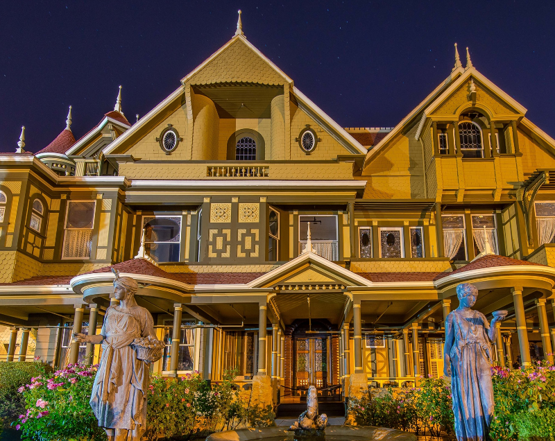 Winchester Mystery House in San Jose, California