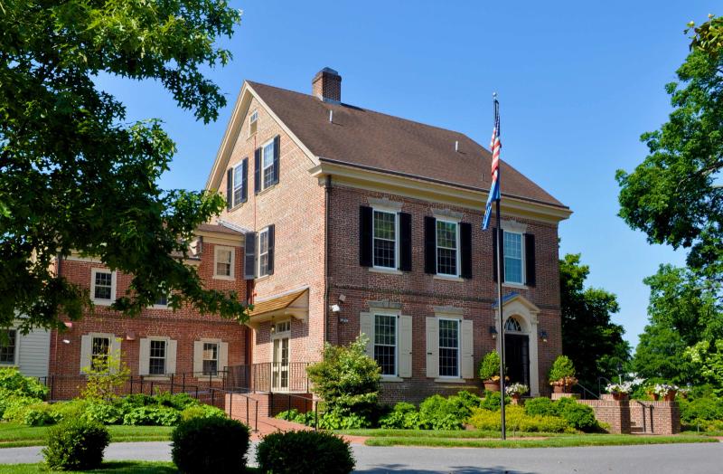Woodburn Mansion in Dover, Delaware